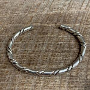Jewelry - Sterling Silver Twist Bracelet